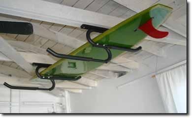 Locking Surfboard Rack, Surfboard Locking Systems