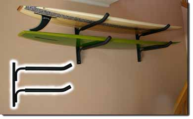 Perfect Locking Surfboard Rack, Surfboard Locking Systems